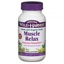 Oregon's Wild Harvest Muscle Relax New (1x90VCAP)