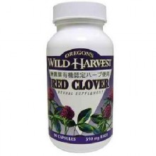 Oregon's Wild Harvest Red Clover (1x90VCAP)