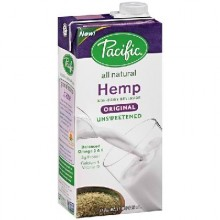 Pacific Natural Foods Hemp Milk Un Sweet Original (12x32OZ )