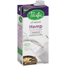Pacific Natural Foods Hemp Milk Un Sweet Van (12x32OZ )