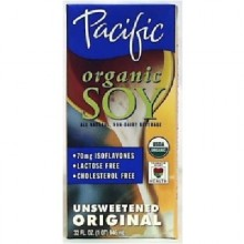 Pacific Natural Foods Soy Milk Un Sweet (12x32OZ )