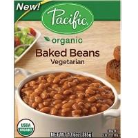 Pacific Natural Foods Bkd Beans Veg (12x13.6OZ )