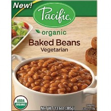 Pacific Natural Foods Bkd Beans Veg (12x13.6OZ )