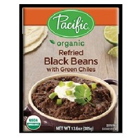 Pacific Natural Foods Rfrd Blackbn/Chili (12x13.6OZ )