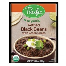 Pacific Natural Foods Rfrd Blackbn/Chili (12x13.6OZ )