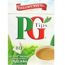 Pg Tips Pyrmd Black Tea 80 (12x80BAG )