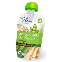 Plum Organics St3 Quinoa Chicken (6x4OZ )