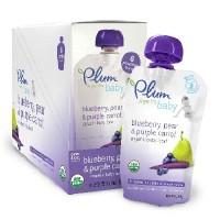 Plum Organics Blu/Pear/C (6x4OZ )