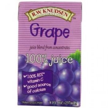 R.W. Knudsen Family Grape Jcbox (7x4Pack )