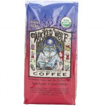 Raven's Brew Coffee Wckd WoLeaf Blend Bn (6x12OZ )