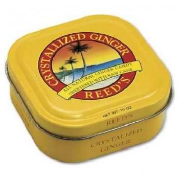 Reed's Inc. Reed Crstlz Ginger Tin (8x10OZ )