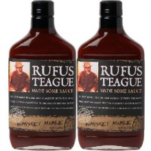 Rufus Teague Whiskey Mapple Bbq Sauce (6x16OZ )
