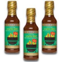 San-J Asian Bbq Sauce (6x10OZ )