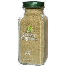 Simply Organic White Pepper (6x2.86OZ )