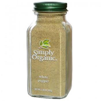 Simply Organic White Pepper (6x2.86OZ )