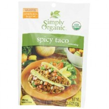 Simply Organic Spicey Taco Seasoning (12x1.13OZ )