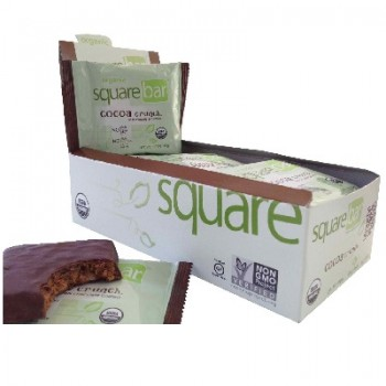 Squarebar Chocolate Cvr Crunch (12x1.7OZ )