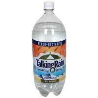 Talking Rain Peach NcSparkling Water (8x2L)