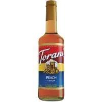 Torani Peach Coffee Syr (12x25.35OZ )