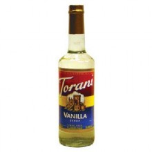 Torani Vanilla Coffee Syr (12x25.35OZ )
