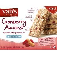 Van's International Foods Cran/Almond Chewy Snkbr (6x5Pack )