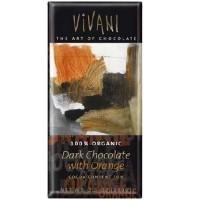 Vivani Chocolates Dark Chocolate Orange (10x3.5OZ )