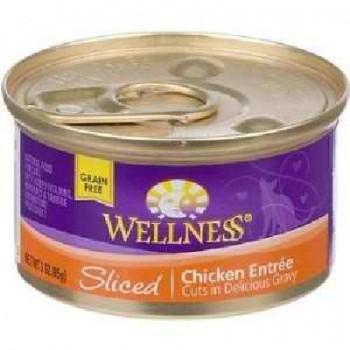 Wellness Cat Cut Chicken Entree (24x3OZ )