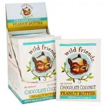 Wild Friends Chocolate Coconut PButter (10x1.15OZ )