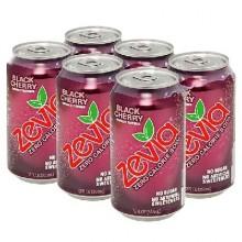 Zevia Nat Cherry Cola (4x6Pack )