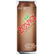 Zevia Nat Ginger Root Beer (12x16OZ )