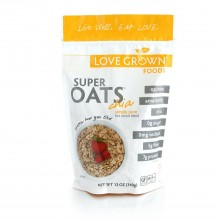 Love Grown Foods Cereal, Super Oats, Simply Pure (6x12 OZ)