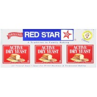Red Star Nutional Yeast Baking Yeast Packet Display ( 18x.75 Oz)