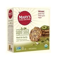 Mary's Gone Crackers Super Seed Basil & Garlic  (6x5.5 OZ)