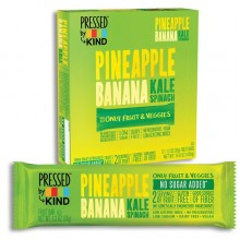Kind Pressed Pineapple Pear Kale Spinach Bar (12x1.2 OZ)