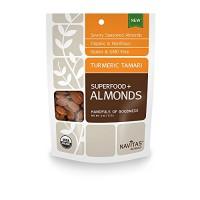 Navitas Naturals Organic Turmeric Tamari Almonds (12x4 OZ)