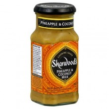Sharwood Pineapple Coconut Milk Cooking Sauce (6X14.1 OZ)