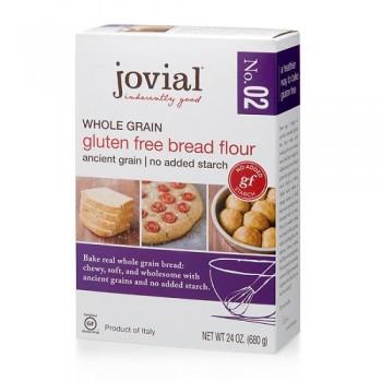 Jovial Whole Grain Gluten Free Bread Flour No. 2 (6x24 OZ)