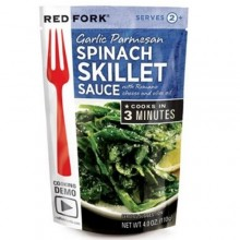 Red Fork Garlic Parmesan Spinach Skillet Sauce (8X4 OZ)