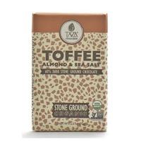 Taza Chocolate Toffee Almond & Sea Salt (10x2.5 OZ)