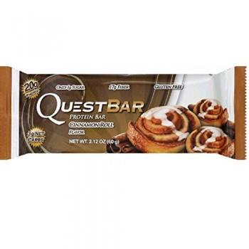 Quest Cinnamon Roll Bar (12X2.12 OZ)
