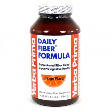 Yerba Prima Orange Flavor Daily Fiber Formula (1x12 OZ)