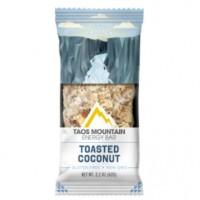 Taos Mountain Energy Bar Toasted Coconut (12x2.2 OZ)