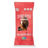 Wild Things Mini Skinny Dipped Almonds in Dark Chocolate Espresso (10x1.5 OZ)