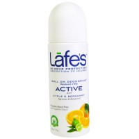 Lafe's Roll-On Deodorant Active (1x2.5 OZ)