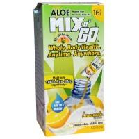 Lily Of The Desert Aloe Mix N Go Lemonade (10x5 PACK)