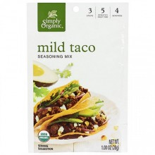 Simply Organic Mild Taco Seasoning Mix (12X1 OZ)