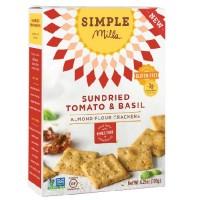 Simple Mills Sun-Dried Tomato & Basil Crackers (6X4.25 OZ)