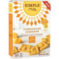 Simple Mills Farmhouse Cheddar Crackers (6X4.25 OZ)