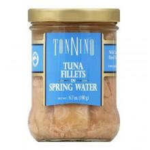 Tonnino Tuna Fillets In Spring Water (6x6.7 OZ)