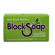Block Soap Bar West Beach Bayberry (12x4.5 OZ)